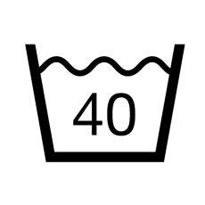 praní v pračce 40