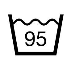 praní v pračce 95