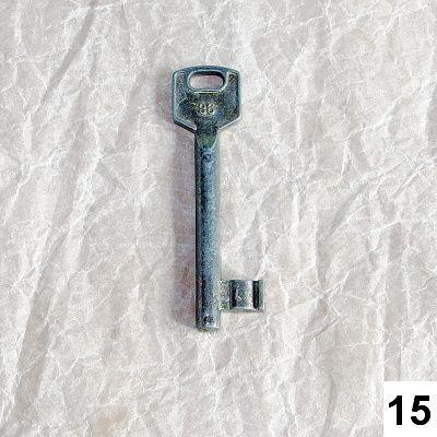 materiál pro vintage tvoření klíč