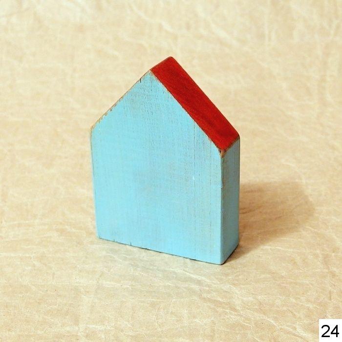 dekorace dřevěný domeček shabby chic