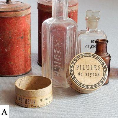 vintage krabičky a dekorace