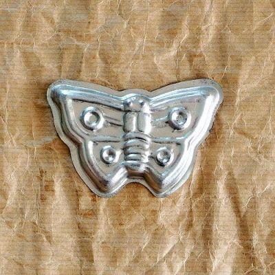 stará vánoční formička motýl