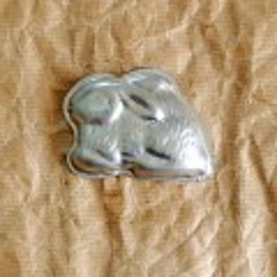 formička na cukroví zajíček