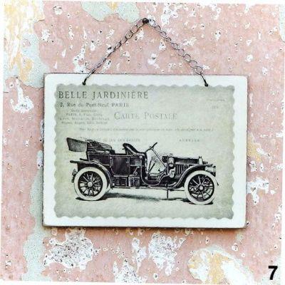 handmade obrázky stará auta