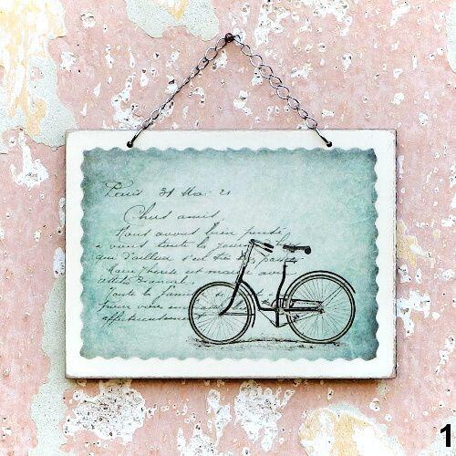vintage obrázky a dekorace