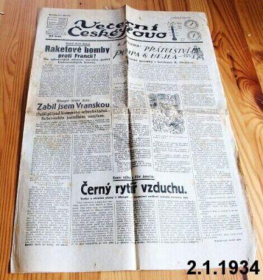 české slovo 1934