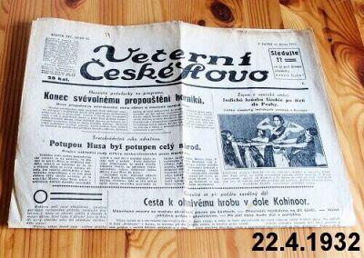 noviny 1932