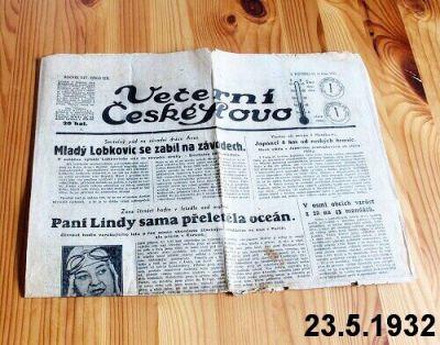 staré noviny květen 1932