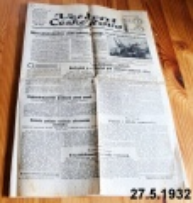 noviny květen 1932