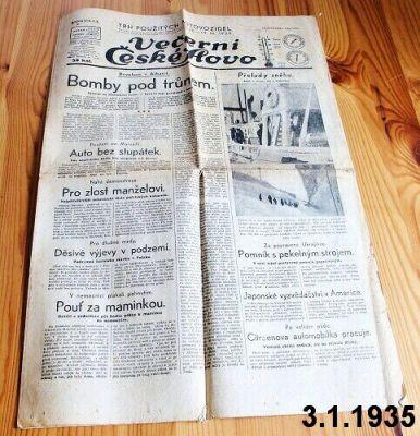 české slovo leden 1935