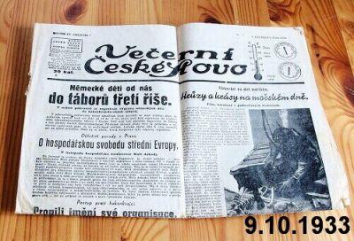 staré české slovo 1933