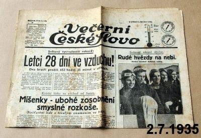 noviny 1935