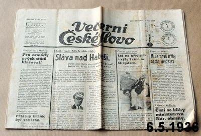 noviny 1936