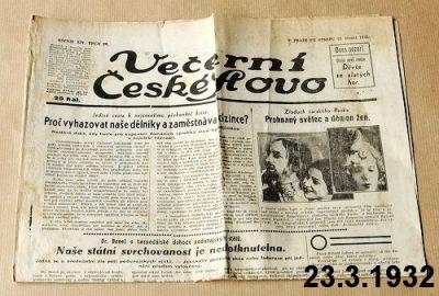 české slovo 1932