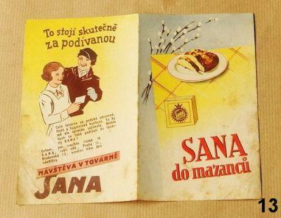 stará reklama a recepty