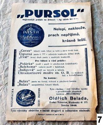 stará reklama Pursol