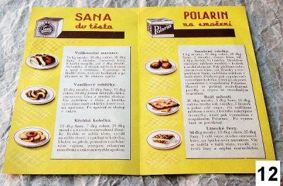 stará reklama sana s recepty
