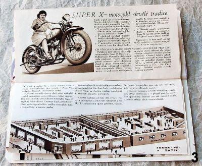 staré reklamní materiály brouk a babka