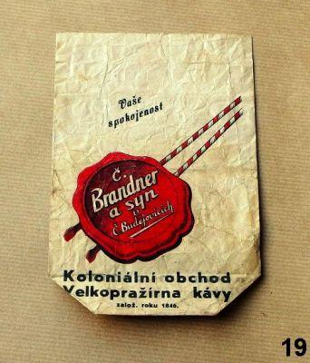 vintage reklamní sáčky