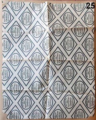 starodávný balící papír