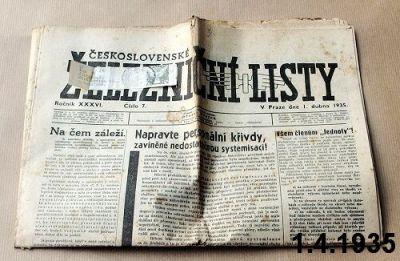 noviny pro železničáře