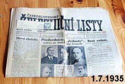 staré železničářské noviny