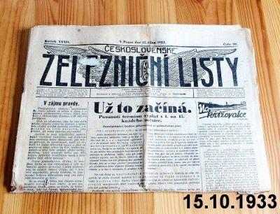 železniční noviny