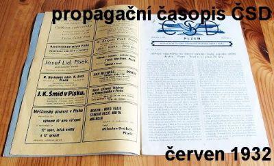 propagační časopis ČSD