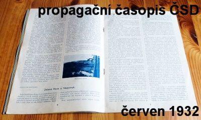 propagační časopis státních drah