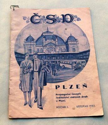 propagační časopis státních drah 1932