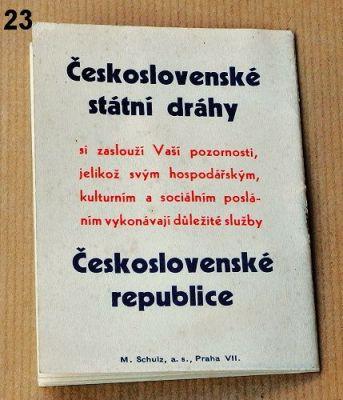 materiály ČSD 1936