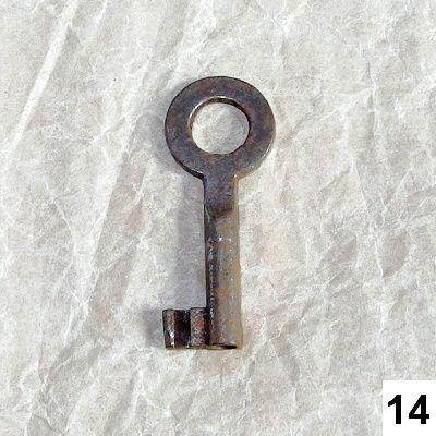 starodávný klíč