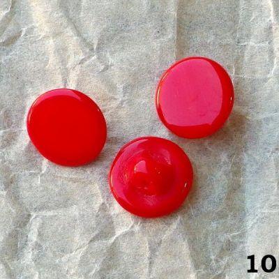 staré červené knoflíčky