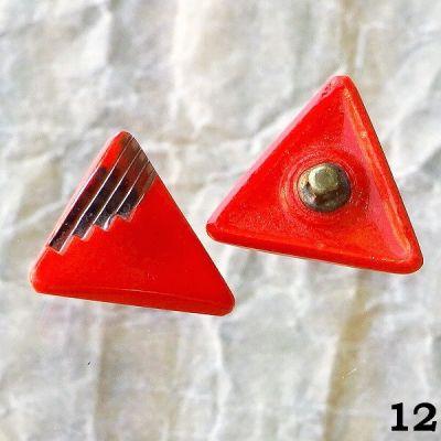 starodávné červené knoflíky