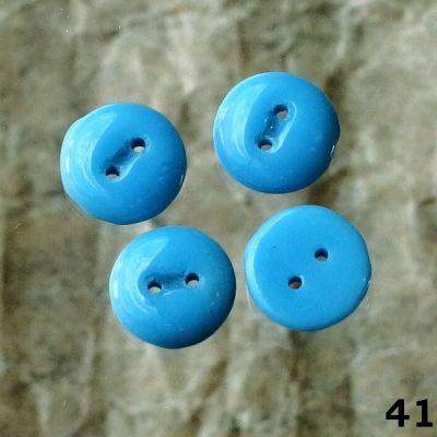 staré modré knoflíčky