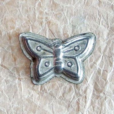 vintage formičky na cukroví motýl