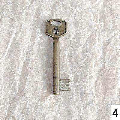 staré klíče na ozdobu