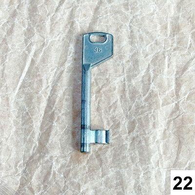 starý klíč na dekoraci