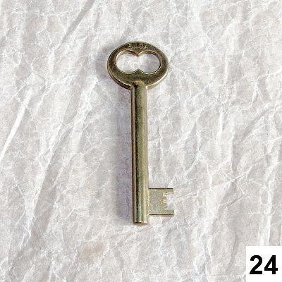 klíče na ozdobu