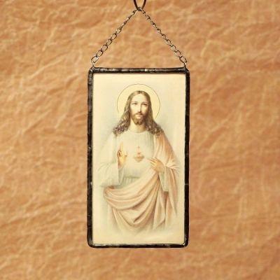 Vintage svatý obrázek na zeď