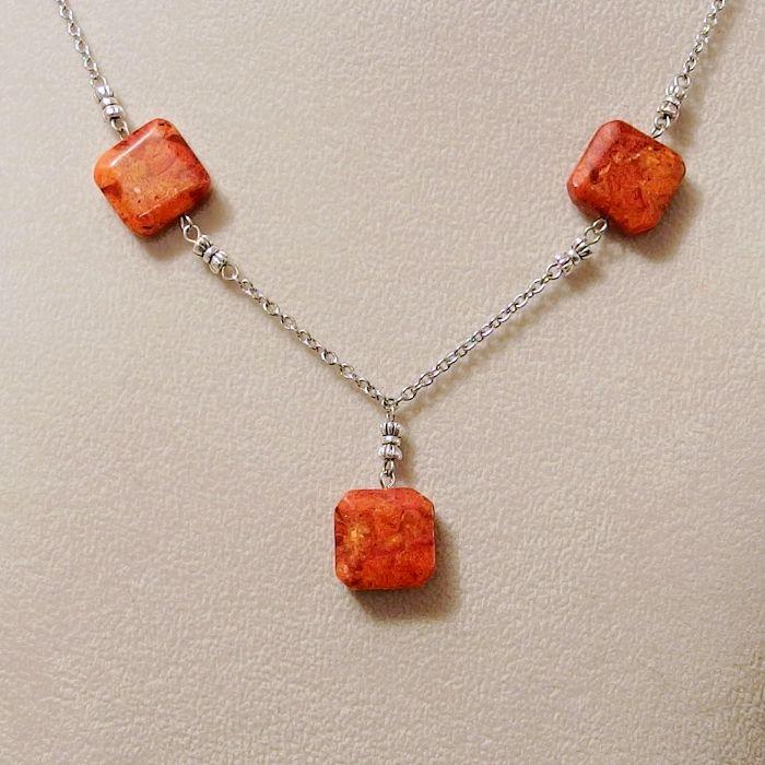 náhrdelník korál houbový