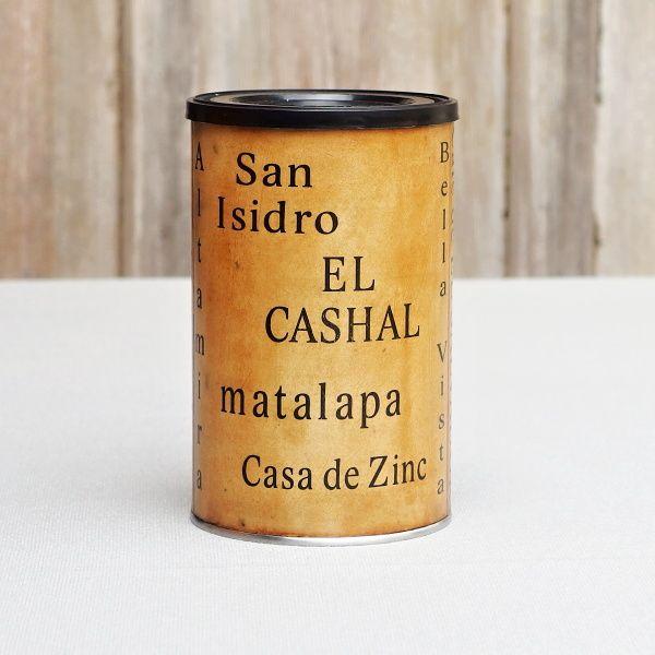 dóza vintage styl káva salvador