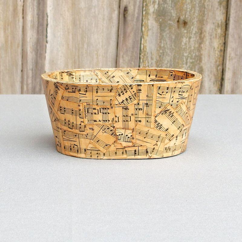 dřevěný box vintage styl