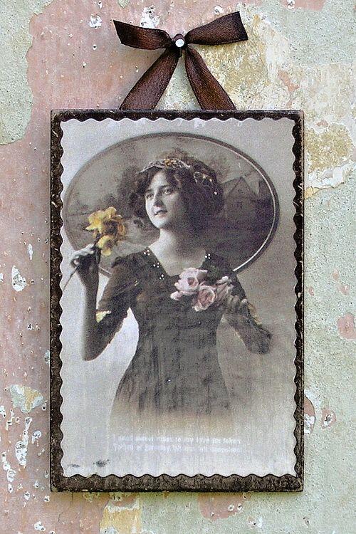 obrázek ve vintage stylu